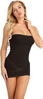Women's One Piece Sheer Mesh Bodycon Strapless Tube Nightclub Lingerie Dresses