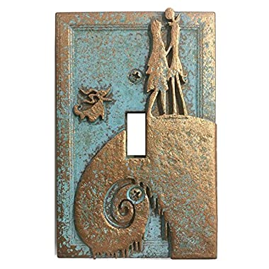 Nightmare Before Christmas - Light Switch Cover (Aged Patina)