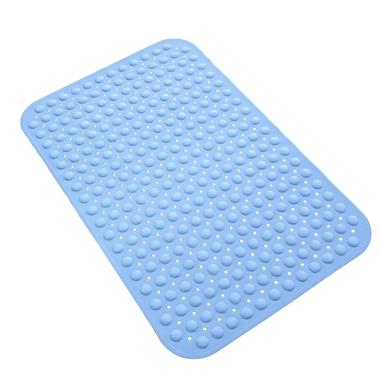 ベッドを作るフェッチ懐疑論快適な焦げ付き防止の毛バスマットバスマットシャワーマットバスルームマット (Color : 48*78CM)
