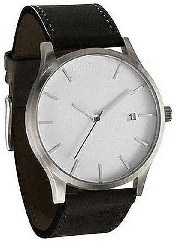 Zackate Mens Fashion Minimalist Wrist Watch Analog Sports Wrist Watch Unisex Casual Leather Band Watches