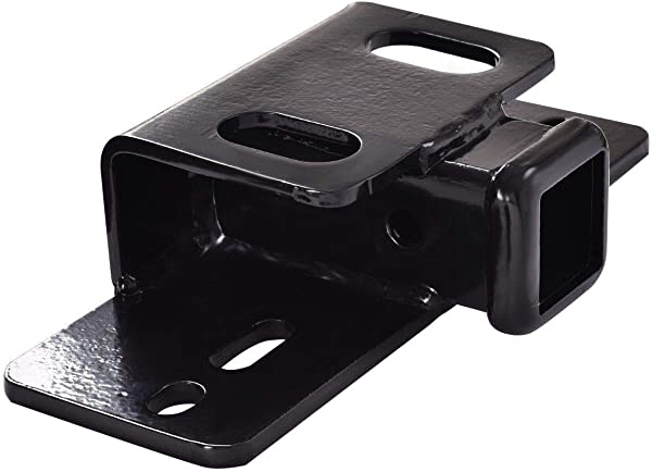 MD Group 5000lb Step Bumper Mount Mounting For 2 Hitch Receiver RV Trailer Truck