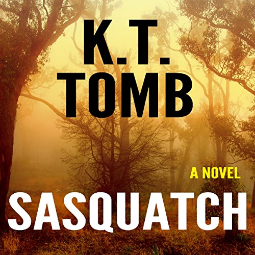 Sasquatch audiobook cover art