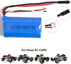 FSTgo 7.4V 1500mAh Li-ion Rechargeable Battery Pack for1/12 BG1513A RC Cars