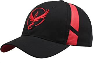 Embroidered Pokemon Go Team Mystic, Valor, Instinct Snapback Baseball Hat Cap
