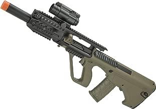 Evike ASG Licensed Steyr AUG A3 MP Full Metal Gearbox Airsoft AEG Rifle (Color: Tan)