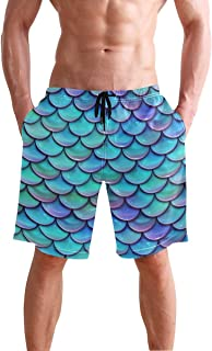 Men's Summer Surf Swim Trunks Beach Shorts Pants Quick Dry with Pockets