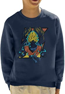 Cloud City 7 Saiyan Trio Dragon Ball Z Kid's Sweatshirt