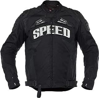 Speed and Strength Insurgent Men's Street Motorcycle Jacket - Black/Medium