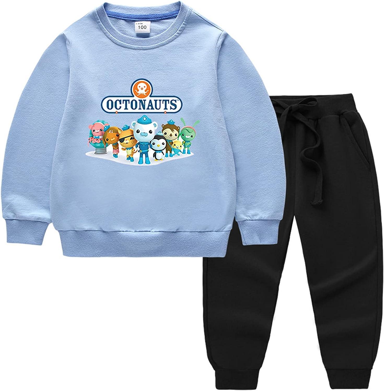Ceomate The Octonauts Crewneck Pullover Year-end annual Dedication account Sweatshirt-Cotton Sweate