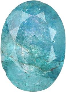 Gemas Sueltas de Esmeralda Verde Natural 8.00 Quilates Color Verde Forma Ovalada Gema Suelta de Esmeralda facetada certifi...