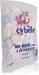 Cybele Make up Cotton Pads - 100 Pieces