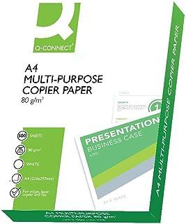 Amazon.es: Q-Connect - Papel / Productos de papel para oficina: Oficina y papelería