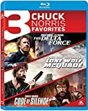 3 Chuck Norris Favorites: The Delta Force / Lone Wolf McQuade / Code of Silence [Blu-ray]
