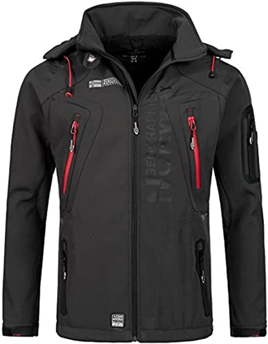 Geographical Norway Blouson à Capuche Techno Hommes 007 Softshell