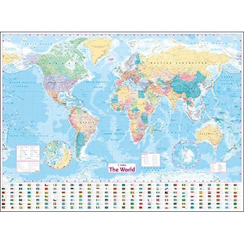 World Maps: Amazon.co.uk