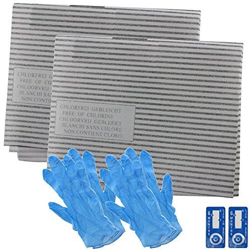 SPARES2GO afzuigkap vet filter kit voor Bauknecht keuken afzuigkap ventilatie