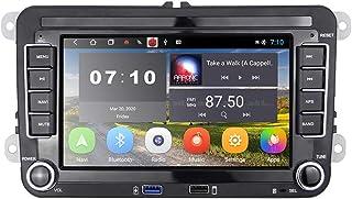 [2G+32G] Android Autoradio für VW GPS Navigation 7' Kapazitiver Touchscreen Bluetooth Autoradio WiFi FM Radioempfänger USB für Golf Polo Touran Tiguan Seat Altea