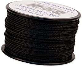 product image for Atwood Rope MFG Micro Cord 125ft Black
