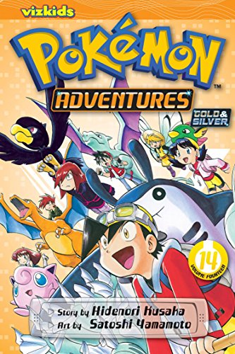 POKEMON ADVENTURES GN VOL 14 GOLD SILVER