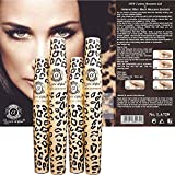 2 Sets (4 Tubes) Love Alpha English Version (Gel & Fiber) Mascara Set Brush on False Eyelashes