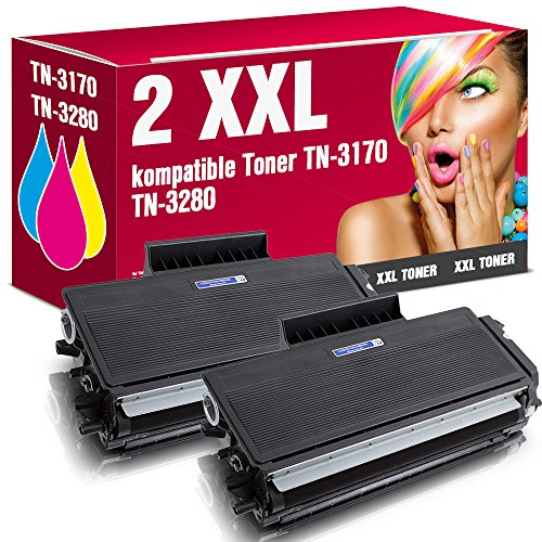 ms-point® 2 kompatible Toner TN-3170 für Brother HL-5240L HL-5250DN HL-5270DN HL-5280DW DCP-8060 MFC-8460DN MFC-8670DN MFC-8860DN MFC-8870DW DCP-8060