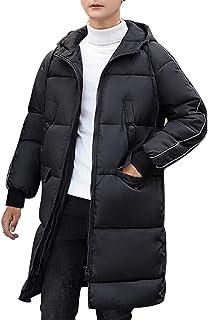 SEA BBOT ダウンコート メンズ ロング フード付き ダウンジャケット 大きいサイズ 中綿 アウター ファッション 男女兼用 厚手 冬服
