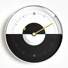 Wall Clock Fashion Wall Clock Home Decorative Art Wall Clock Watch Pocket Watch 30CM * 30CM * 4.3CM LJJCUICAN (Color : Yel...
