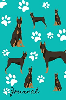 Journal: RV Camping Travel Journal  Doberman Pinscher Dog Memory Book RVing Log Book Keepsake Diary Road Trip Planner Tracker Campground Vacation Record