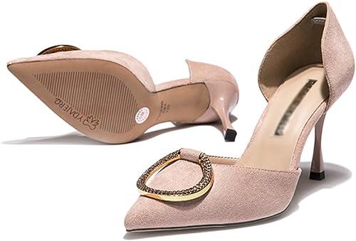 Yra Yra Yra Femmes Printemps Talons Hauts Stilettos D'été Des Femmes rouge Wild Party chaussures Palace Chaussures a79