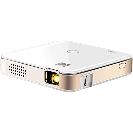 KODAK Luma 150 Ultra Mini Pocket Pico Projector - Built in Rechargeable Battery & Speaker, 1080P Support Portable Wireless LED DLP Movie & Video Travel Projector, Connects to iPhone and Android