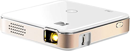 KODAK Luma 150 Pocket Projector - Portable Movie Projector w/ Built-in Speaker for Home & Office Produces Images Up to 150� for Anywhere Entertainment | HDMI, USB, MicroSD, Airplay & Miracast Enabled