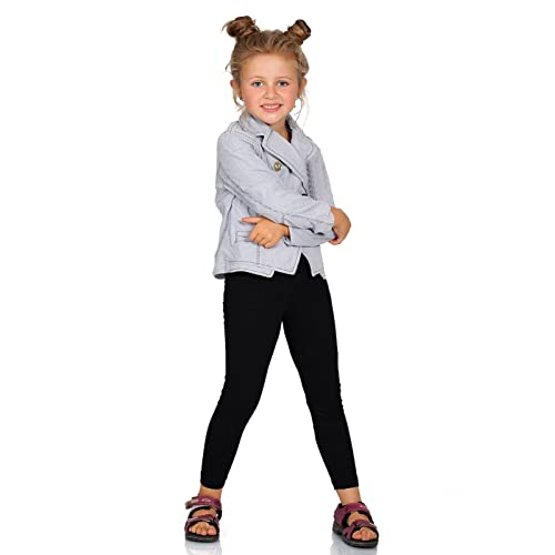 2987845d4e hi!mom Kids Cotton Leggings Girls Pants Plain Full Length Childrens  Trousers Age 2-