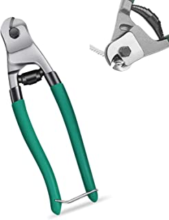 Cable Wire Cutters Heavy Duty Stainless Steel 8 Inch Wire Rope Cutter for Hard-Wires, Aircraft Bicycle, Deck Railing