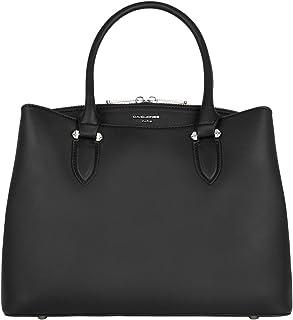 David Jones - Damen Handtasche Elegante - Frauen Henkeltasche Mittelgroß PU Leder - Umhängetasche Shopper Tote Bag Viele F...