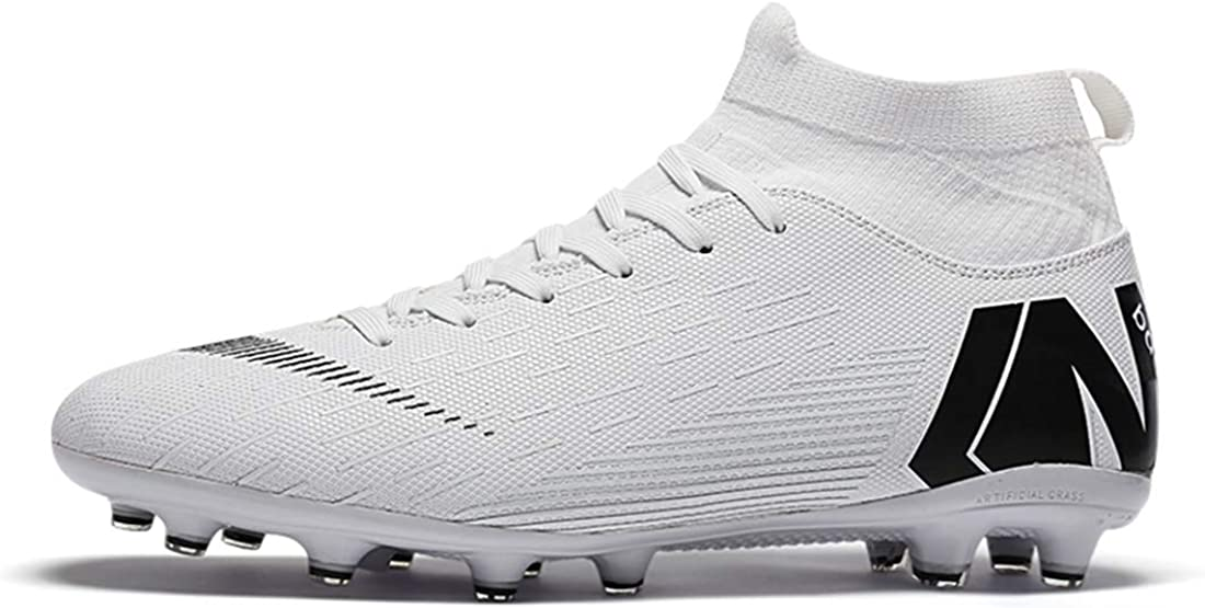 LIAOCX Men's Football 激安通販 Boots Cleats Sock Ankle 人気ショップが最安値挑戦 Care High-top Perf