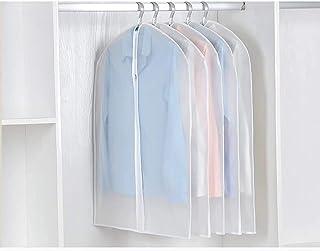 ZNKZJ Couvre-vêtements Sac de Rangement Suspendu pour vêtements 10 pièces,Sac de Couverture de vêtement Lavable Anti-pouss...