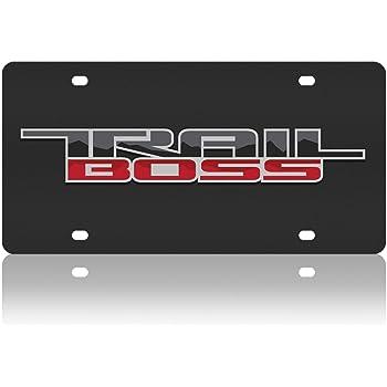 Compatible with Acrylic License Plate Chevrolet Trail Boss Lazer-Tag Eurosport Daytona