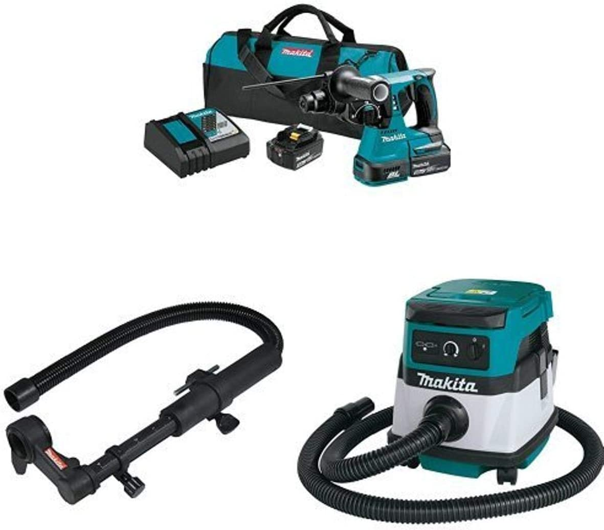 Makita Outlet ☆ Free Shipping XRH01T 18V LXT Brushless 1-Inch Kit Hammer Rotary 193472 Industry No. 1