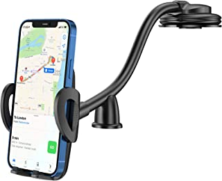 CTYBB Car Phone Holder Mount, Long Arm Dashboard Windshield Phone Holder for Car, with Strong Suction Cup and Anti-Shake S...
