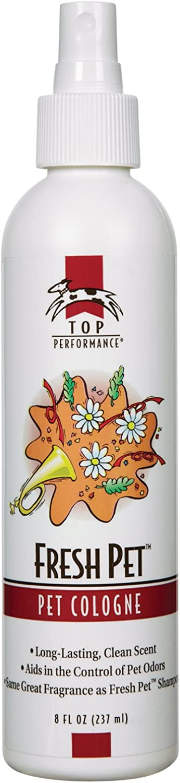 Petedge TP865 08 Top Performance Fresh Pet Cologne Mist 8oz