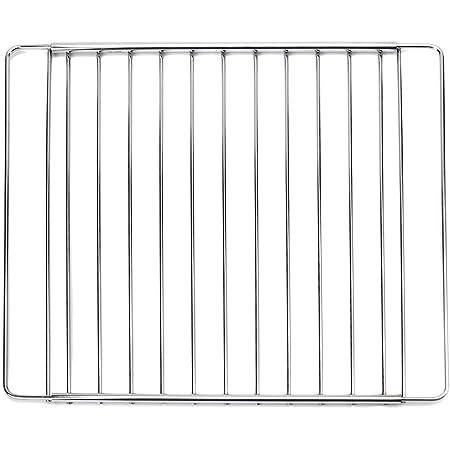 MIRTUX - Grille / grille pour four Modèle universel. Largeur: 32cm et longueur extensible/réglable de 35 (taille minimum) à 56cm (taille maximale).