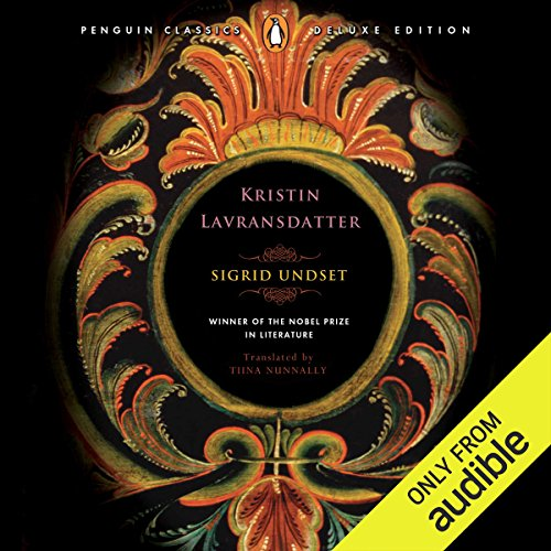 Kristin Lavransdatter audiobook cover art