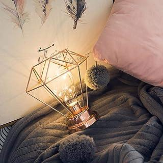 coersd String Lights, Creative Desk Lamp Iron Bedroom Decoration Photography Prop Lamp (Rose Gold