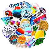Vsco Cute Stickers for Hydro flasks[100pcs] Summer Beach Sticker for Laptop Phone Computer PC Water Bottle...