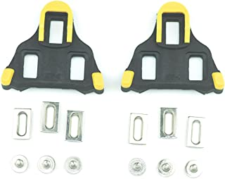 Fantasy Life Bike Cleats for Shimano SH11 SPD-SL Shoes Indoor Cycling or Road Bike Bicycle-Yellow