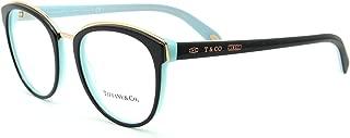 Tiffany & Co. TF 2162-F Women Eyeglasses Prescription Asian Fit Frame (8055) 53mm
