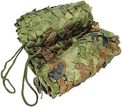 Ljdgr Filet Camo Visière Extérieure GR Filet de Camouflage Filet boisé Camping Observation des Oiseaux Décoration Oxford Filet en Tissu (Taille  3x5m) Armée Camo Filet (Taille   5x10m)
