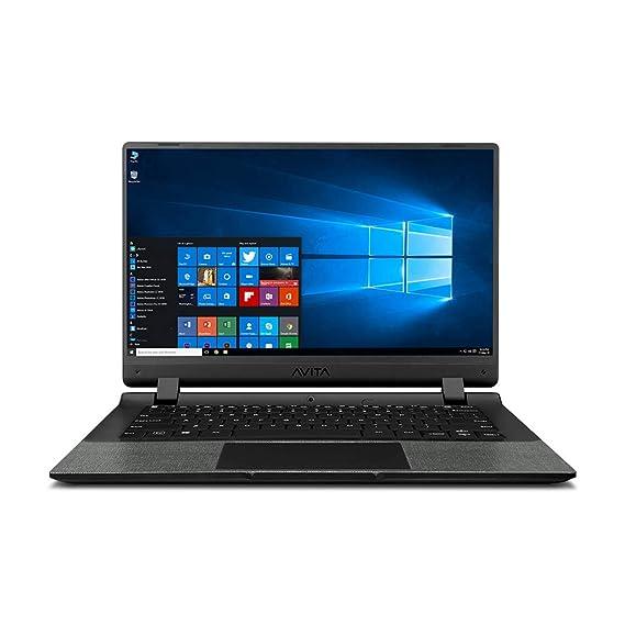 Avita Essential Refresh NE14A2INC44A-MB 14-inch/35.56 cm(Intel Celeron-N4020/4GB/256GB SSD/Windows 10 Home/FHD/Integrated Graphics),Matt Black