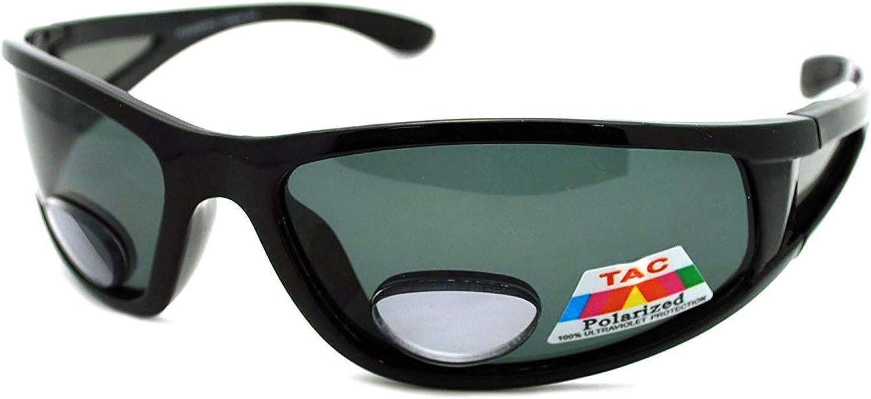 Mens Wrap Around Sport Sunglasses Bifocal Manufacturer regenerated product Polarized Reading Fashionable Plus