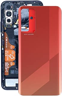 GXX Lin Battery Back Cover for Huawei Honor X10 5G(Black) (Color : Orange)